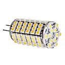 hesapli LED Bi-pin Işıklar-2W 3000lm G4 LED Mısır Işıklar T 120 LED Boncuklar SMD 3528 Sıcak Beyaz 12V