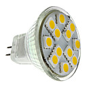 ieftine Spoturi LED-2 W Spoturi LED 160 lm GU4(MR11) MR11 12 LED-uri de margele SMD 5050 Alb Cald 12 V