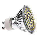 3W 250-350lm GU10 Focos LED MR16 48 Cuentas LED SMD 3528 Blanco Natural 220-240V