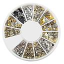 hesapli Makyaj ve Tırnak Bakımı-240 Nail Jewelry Glitter & Poudre Dekorasyon Setleri Karikatür Moda Sevimli Yüksek kalite Günlük