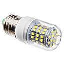 olcso LED kukorica izzók-3 W 6500 lm E26 / E27 LED kukorica izzók 60 LED gyöngyök SMD 3528 Természetes fehér 220-240 V / 110-130 V / #