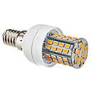 hesapli LED Küre Ampuller-1pc 3.5 W 350-450 lm E14 / E26 / E27 LED Mısır Işıklar 60 LED Boncuklar Sıcak Beyaz / Doğal Beyaz 220-240 V