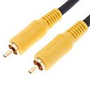 hesapli Ses ve Video Kabloları-dvd ev sineması için erkek video kablosu siyaha jsj® 10m 32.8ft rca erkek