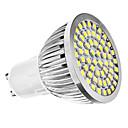 baratos Lâmpadas de Foco de LED-6500 lm GU10 Lâmpadas de Foco de LED MR16 60 leds SMD 3528 Branco Natural AC 110-130V AC 220-240V