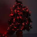 hesapli LED Şerit Işıklar-10m Dizili Işıklar 100 LED'ler Kırmızı Dekorotif / Bağlanabilir 220-240 V