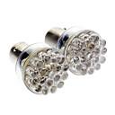 Недорогие LED огни для авто-2pcs BA15S (1156) Автомобиль Лампы 50 lm 24 Светодиодная лампа Лампа поворотного сигнала For Универсальный