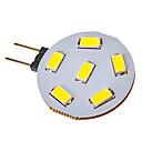 hesapli LED Bi-pin Işıklar-SENCART 120-150lm G4 LED Spot Işıkları 6 LED Boncuklar SMD 5730 Serin Beyaz