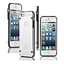 hesapli Bilezikler-Pouzdro Uyumluluk iPhone 5 Apple iPhone 5 Kılıf Karanlıkta Parlayan Şeffaf Arka Kapak Tek Renk Yumuşak TPU için iPhone SE/5s iPhone 5