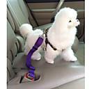 voordelige Hondenhalsbanden, tuigjes & riemen-Hond Autostoel hondentuig /Hondenveiligheidstuig Verstelbaar / Uitschuifbaar Veiligheid Effen Nylon Zwart Paars Rood Blauw Roze