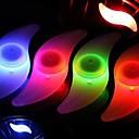 رخيصةأون اضواء الدراجة-LED اضواء الدراجة أضواء عجلة دراجة تكلم أضواء ركوب الدراجة ضد الماء ألوان فاتحة أخضر / IPX-4