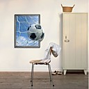 hesapli Duvar dekorasyonu-Dekoratif Duvar Çıkartmaları - 3D Duvar Çıkartması 3D Oturma Odası / Yatakodası / Çalışma Odası / Ofis / Yıkanabilir