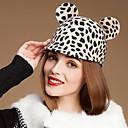 hesapli Küpeler-Hayvan Kulaklar (Daha fazla renk) ile Lovely Yün Bayanlar Parti / Açık / Casual Şapka