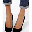 hesapli Küpeler-Ayak bileziği Barefoot Sandalet - Eşsiz Tasarım, Moda Altın Uyumluluk Yılbaşı Hediyeleri Parti Günlük