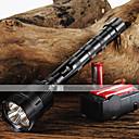 hesapli Fenerler-Trustfire LED Fenerler LED 3800/3000 lm 5 Piller ve Şarj Aleti ile Ayarlanabilir Fokus Siyah Kamp / Yürüyüş / Mağaracılık