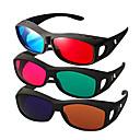 hesapli VR Glasses-bilgisayar tv mobil için yan miyopi 3d gözlük ile reedoon kırmızı, mavi tarafı