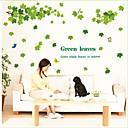 hesapli Ev Dekorasyonu-Botanik Duvar Etiketler Uçak Duvar Çıkartmaları Dekoratif Duvar Çıkartmaları, Vinil Ev dekorasyonu Duvar Çıkartması Duvar