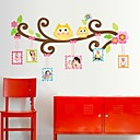 hesapli Ev Dekorasyonu-Karton Duvar Etiketler Hayvan Duvar Çıkartmaları Fotoğraf Çıkartmalar, Vinil Ev dekorasyonu Duvar Çıkartması Duvar