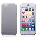hesapli iPad Ekran Koruyucuları-Pouzdro Uyumluluk Apple iPhone 6 iPhone 6 Plus Arka Kapak Tek Renk Yumuşak TPU için iPhone 6s Plus iPhone 6s iPhone 6 Plus iPhone 6