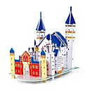 cheap 3D Puzzles-Wooden Puzzle Wooden Model Castle Paper EPS Boys' Girls' Toy Gift