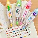 preiswerte Zubehör zum Zeichnen und Schreiben-Pressentyp diy dekorative Band (gelegentliche Farbe)