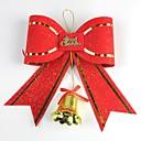 ieftine Cadouri-14 * 10.5cm Crăciun decorare arc cu clopot
