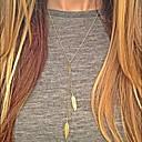billige Mode Halskæde-Dame Halskædevedhæng Y Halskæde Damer Europæisk Mode Sølv Gylden Halskæder Smykker 1pc Til Daglig Afslappet