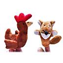 Χαμηλού Κόστους Μαριονέτες-Κοτόπουλο Μαριονέτες δακτύλου Μαριονέτες Χαριτωμένο Lovely Πρωτότυπες Κινούμενα σχέδια Υφασμα Χνουδωτό Κοριτσίστικα Αγορίστικα Δώρο