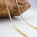 hesapli Boncuklar ve Takı Yapımı-Kadın's Zincir Kolyeler - Altın Kolyeler Uyumluluk Düğün, Parti, Günlük