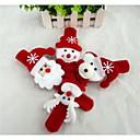 hesapli Santa Suits-Yılbaşı Hediyeleri Noel Oyuncakları Dövme Kol Bandı Kardan adam Tatlı Noel Baba Tekstil Çocuklar için Genç Erkek Genç Kız Oyuncaklar Hediye 1 pcs