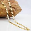 hesapli Boncuklar ve Takı Yapımı-Kadın's Zincir Kolyeler - Moda Altın Kolyeler Uyumluluk Düğün, Parti, Günlük