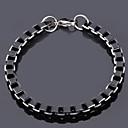 preiswerte Halsketten-Herrn Edelstahl Ketten- & Glieder-Armbänder Vintage Armbänder - Linienform Armbänder Für