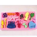hesapli Fırın Araçları ve Gereçleri-orkestra notlar kek çikolata silikon kalıp kek dekorasyon araçları fondant, l11.5cm * w5.7cm * h0.9cm