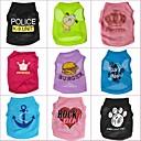 preiswerte Bekleidung & Accessoires für Hunde-T-shirt für Hunde / Katzen Frühling/Herbst XS Terylen
