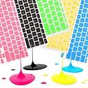 """hesapli Mac Klavye Kılıfları-11 için renkli silikon klavye kapağı cildi coosbo® """"/ 13"""" / 15 """"/ 17"""" macbook air pro / retina (çeşitli renklerde)"""