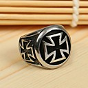 preiswerte Ringe-Herrn Statement-Ring Ring - Kreuz Erklärung, Personalisiert, Retro Für