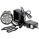 ieftine Întrerupătoare-LED Lumini de Bicicletă Iluminat Bicicletă Spate lumini de securitate Cree® XM-L T6 Ciclism montan Ciclism Rezistent la apă Portabil Atenţie 18650 7000 lm Baterie