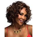 hesapli Kolyeler-Sentetik Peruklar Bukle / Klasik / Kinky Curly Sentetik Saç 12 inç Peruk Kadın's Bonesiz