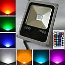 hesapli Saç Takıları-10W 450-700 lm LED Yer Işıkları 1 led Yüksek Güçlü LED Uzaktan Kumandalı RGB AC 85-265V
