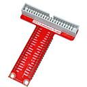 hesapli Konnektörler ve Terminaller-Ahududu pi b + tip-t GPIO genişletme kartı aksesuarı - kırmızı