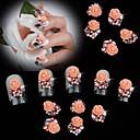Χαμηλού Κόστους Μακιγιάζ και περιποίηση νυχιών-10 Κοσμήματα νυχιών Λουλούδι Κλασσικό Γάμος Καθημερινά Λουλούδι Κλασσικό Γάμος Υψηλή ποιότητα