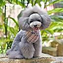preiswerte Hundehalsbänder, Geschirre & Leinen-einstellbar Leinwand und Nylon rosa Zellmuster Dreieck Halstuch für Hunde (verschiedenen Größen)