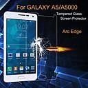 hesapli Samsung İçin Ekran Koruyucuları-Ekran Koruyucu için Samsung Galaxy A5 Temperli Cam 1 parça Yüksek Tanımlama (HD) / Patlamaya Dayanıklı Temperli Cam / Ultra İnce
