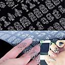preiswerte Make-up & Nagelpflege-1 pcs 3D Nagel Sticker / Andere Dekorationen Blume / Modisch Alltag