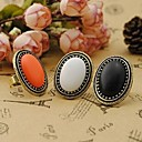cheap Rings-Women's Statement Ring - Alloy Vintage, Fashion, Elegant One Size White / Black / Orange For Party Daily Casual