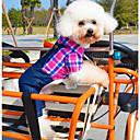 hesapli LED Spot Işıkları-Köpek Kostümler Tulumlar Köpek Giyimi Kotlar Gül Yeşil Pamuk Kostüm Evcil hayvanlar için Erkek Kadın's Günlük/Sade Cosplay