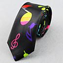 hesapli Erkek Kravatları ve Papyonları-Unisex Parti İş Temel Polyester Boyun Bağı - Desen