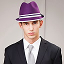 hesapli Bilezikler-erkek partisi / akşam nedensel damat / groomsman yün başlığı-geçici şapkalar