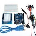 お買い得  マザーボード-ArduinoのためのUNO +プロトタイプ拡張ボードとブレッドボード