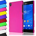 tanie Etui / Pokrowce do Samsunga Galaxy A-Kılıf Na Sony Xperia Z3 Sony Xperia Z3 Etui Sony Szron Czarne etui Solid Color Twarde PC na Sony Xperia Z3 Sony