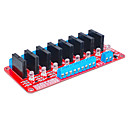 baratos Relés-oito para arduino relé de estado sólido (vermelho)
